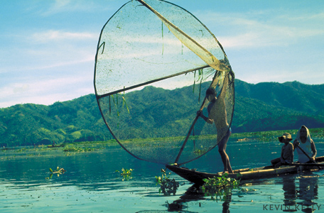 Fisherman, Lake Taal