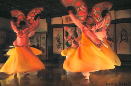 Fan dancers