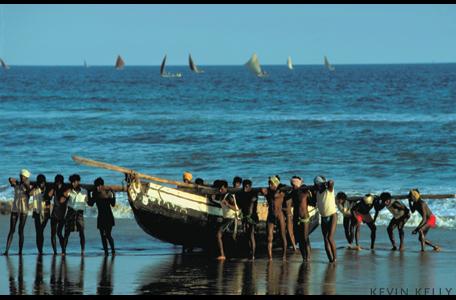 Kerala boatmen