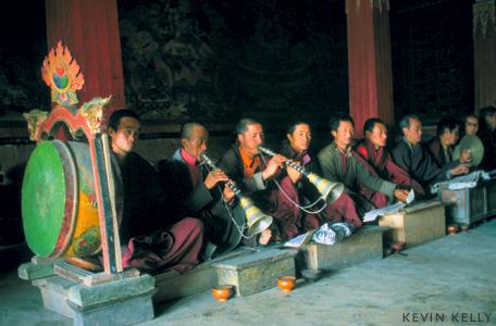 Morning services, Leh, Ladakh