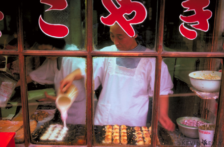 Takoyaki snack shop