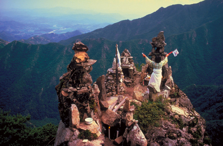 Mountain top Worshiper