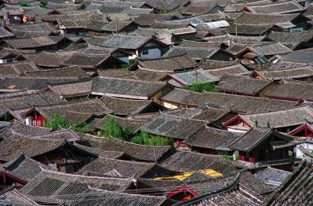 Roofs of Li Jiang