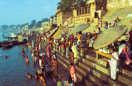 Bathing Ghats - Kevin Kelly - Asia Grace