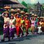 Procession in Ubud, Bali