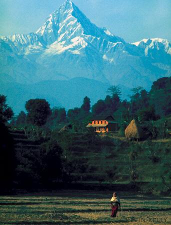 Anapurna peak