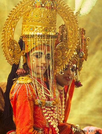 Tableau at Kumbh Mela