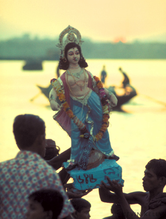 River god, Calcutta