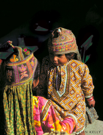 Children of a northern tribes