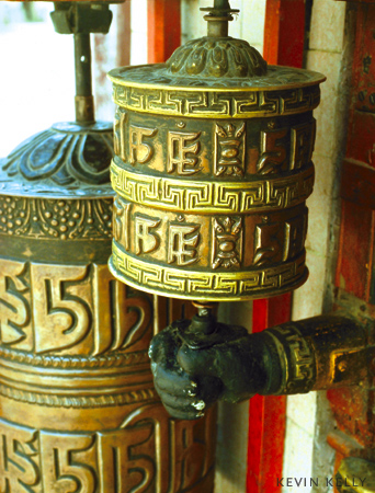 Prayer wheels
