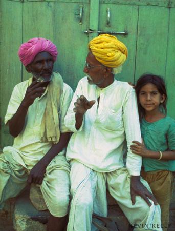 Waiting in Rajastan